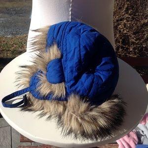 Boys Polo Ralph Lauren fur hat.